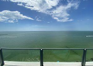 クリアウォータービーチの眺め